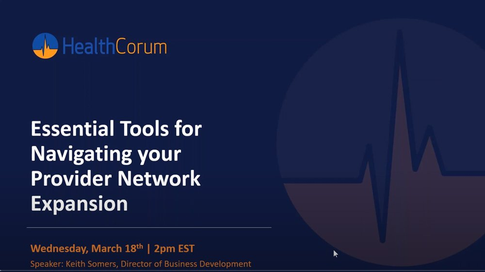 Essential Tools for Navigating your Provider Network Expansion